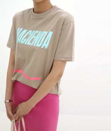 프롤브 프린팅 티셔츠 (3col)